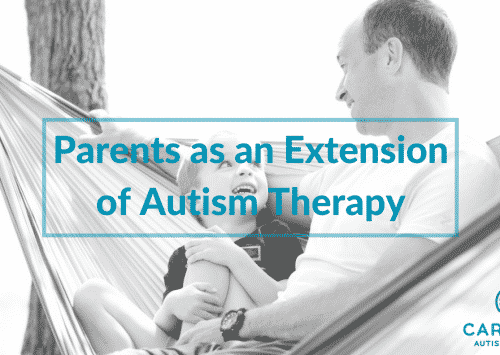 Parents as an Extension of Autism Therapy