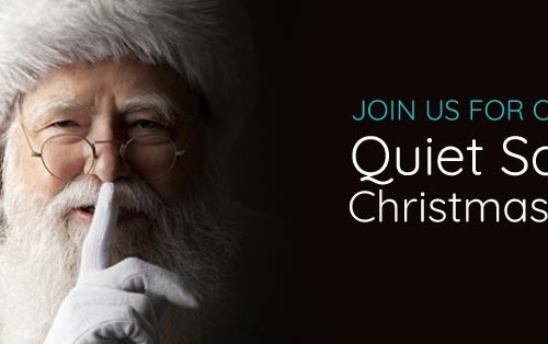 "Join Us for Our ""Quiet Santa"" Christmas Party"