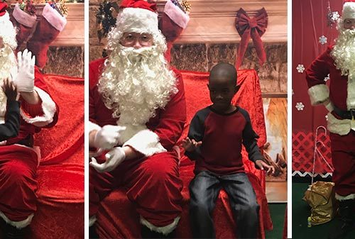 """Quiet Santa"" Parties Brighten the Season for Kids with Autism"